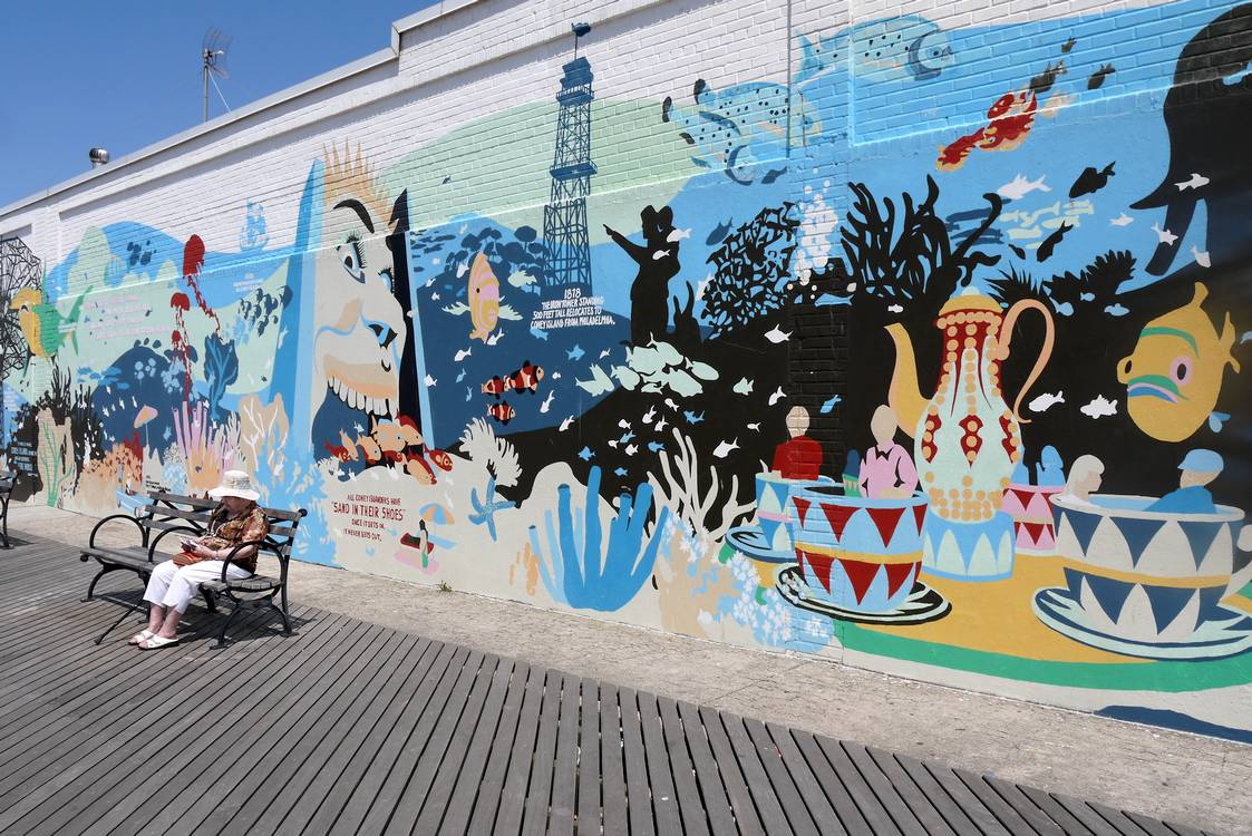 coney island street art