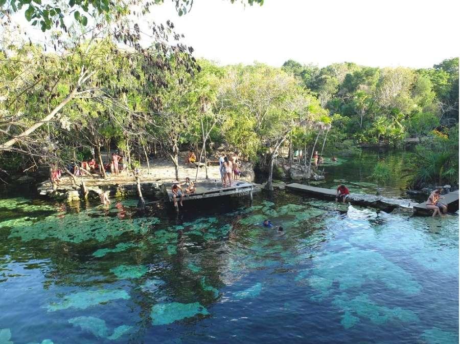 cenote azul mexico