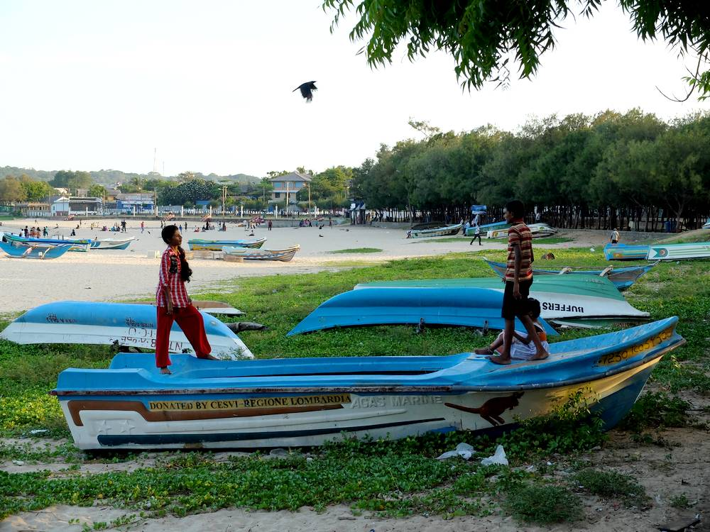 trincomalee bateaux pêche