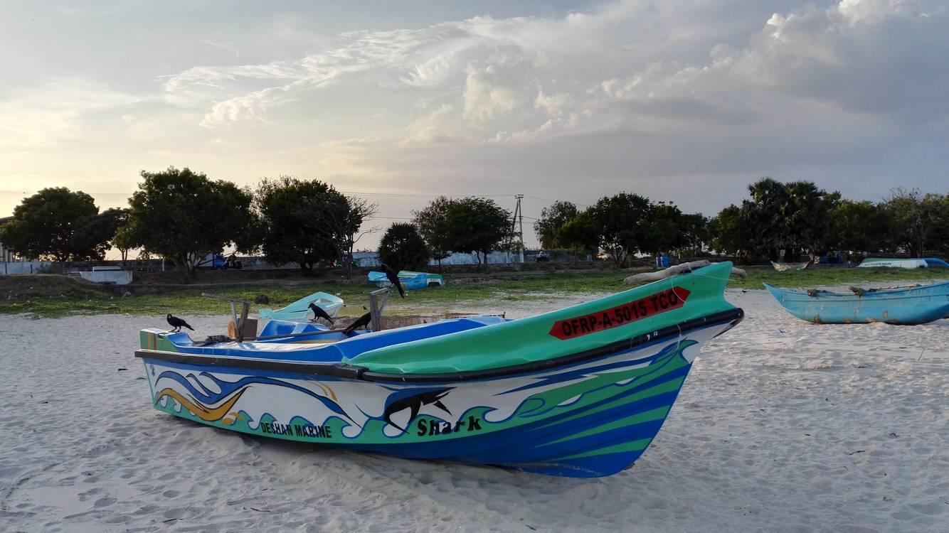 trincomalee bateau peche