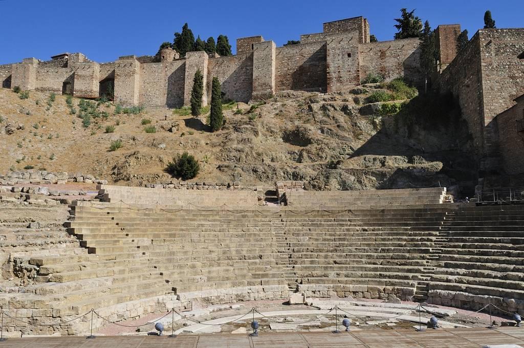malaga theatre romain