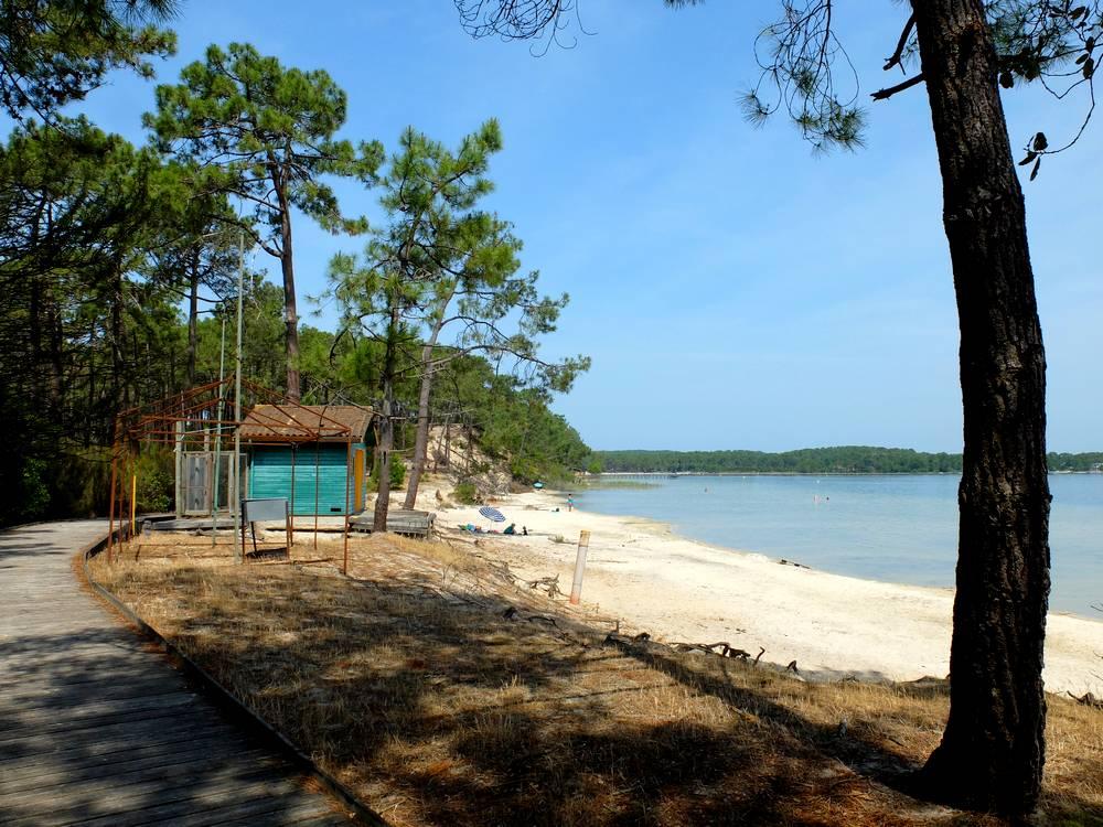 lac maubuisson plage