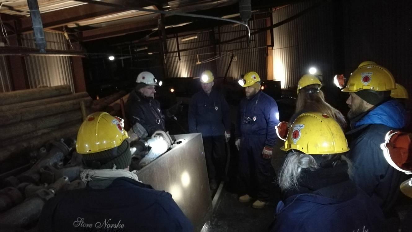 spitzberg coal mine