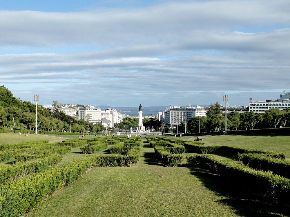 parc eduardo VII lisbonne